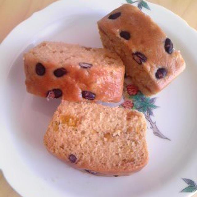 あずきと梅の米粉蒸しパン(小麦・卵・乳製品・大豆・ナッツ不使用)