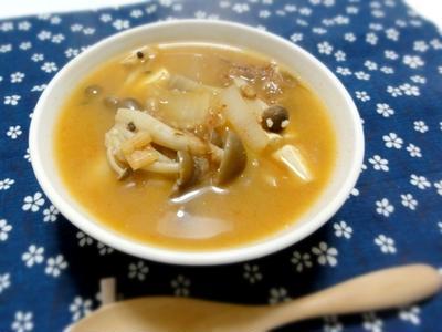 レシピ・納豆の香りがほんのり漂う、納豆味噌チゲ