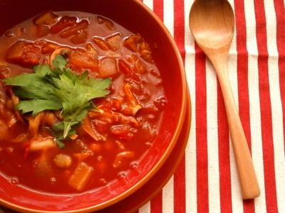 理想のトマトde脂肪燃焼スープ
