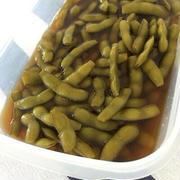 無限麺つゆ枝豆。運動メモ。