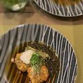 「モニター」三陸海岸の栄養豊富なとろろ昆布入りれんこん餅の揚げ出し風~美味しい!!