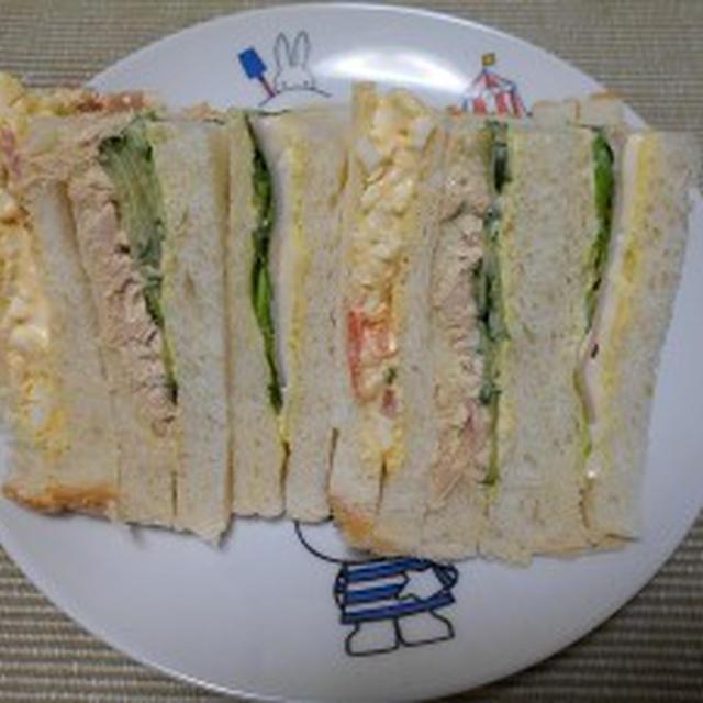 定番のサンドイッチ
