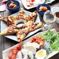 糖調唐辛子と豚肉のチヂミと韓国料理の日