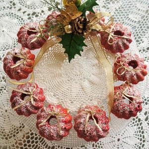 クリスマスにおすすめ!「リース風ドーナツ」をみんなで作ろう♪