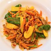 豚と彩り野菜の花椒炒め