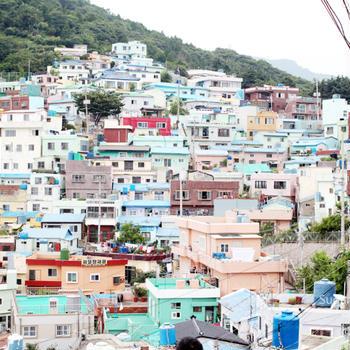 韓国旅行:釜山(プサン)1-4:甘川 文化村(カムチョンムナマウル)
