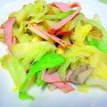 """ある材料で作る """" 野菜炒め """" by アレックスさん"""