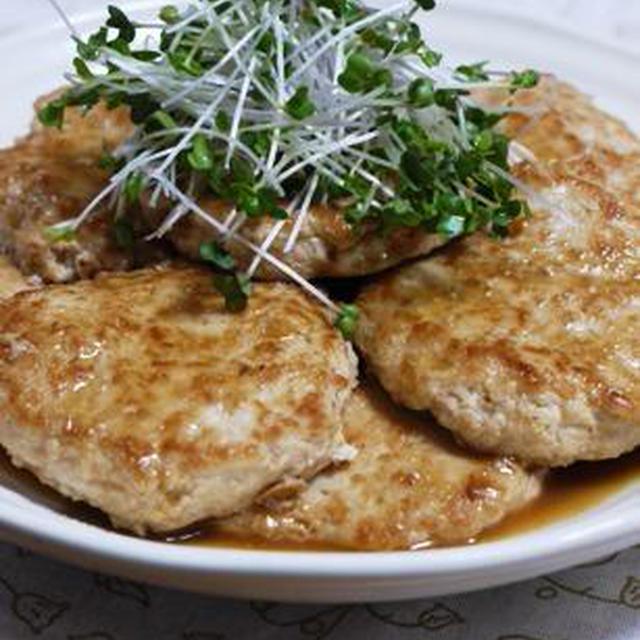 生姜たっぷり☆豆腐と鶏ミンチのヘルシーハンバーグ♪&昔懐かしおもちゃ館~