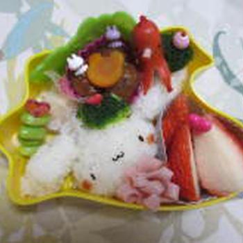 シナモンちゃんのお弁当