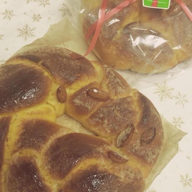 冬至だし。カボチャでおやつパン。