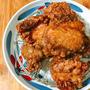 鶏の唐揚げ〜にんにく醤油味