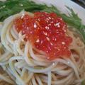 イクラの和風パスタ 柚子こしょう風味 by yumiさん
