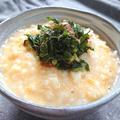 ふんわり卵の味噌おかゆ