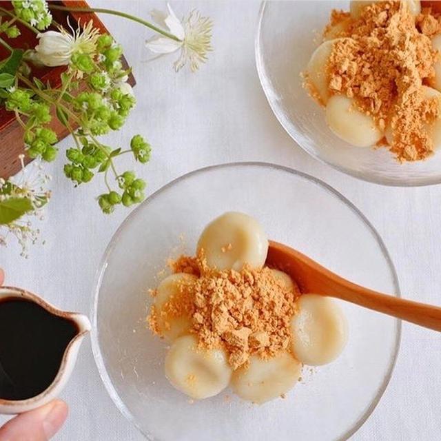 レシピ お豆腐白玉団子