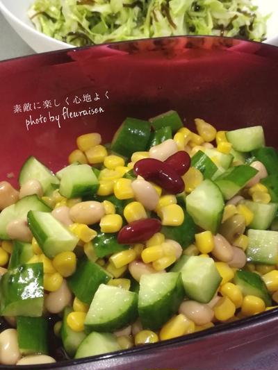 【今日の献立】野菜をたっぷり食べよう♡副菜尽くしなごはん