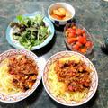 8月16日(献立)バナナピーマン、茄子、トマト等、買ったお野菜で色々作ってみた全4品