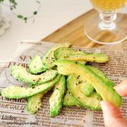 激推しレシピ‼︎ 【材料1つ】レンチンde簡単!サクサクッ♪アボカドチップス