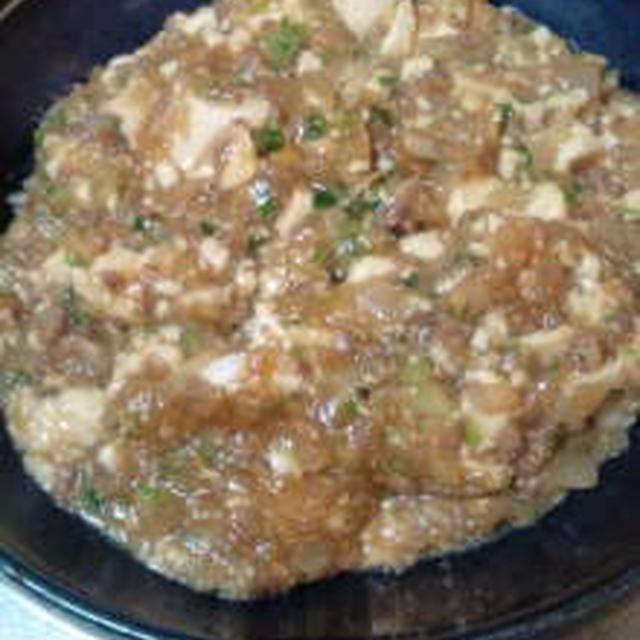 豆腐のオイスター味噌炒め