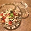 旬の食材を食べよう サザエと野菜のマリネ、セビーチェ