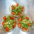 グリーンナッツオイルで和風水菜サラダ