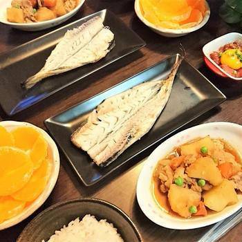 我が家のイチオシ【おふくろの味・肉じゃが】de 和食な夕食 & バレンタインデー❤ だね。