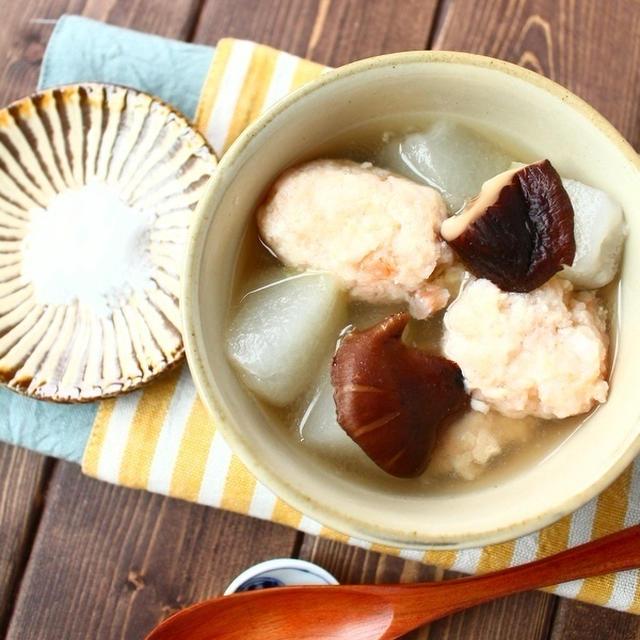 冬瓜と海老団子のスープ ~ Nadia旬のレシピ掲載