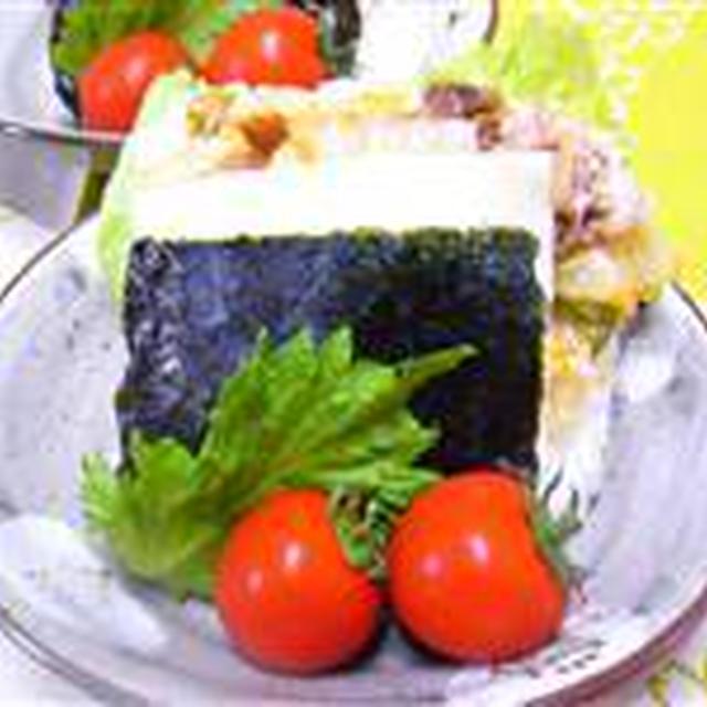 大きなおむすび☆チーズのっけて豚キムチ