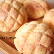 ふわっとさっくりメロンパン
