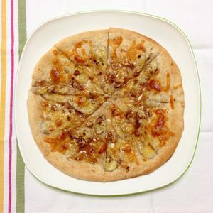 メイプルバナナッツピザ