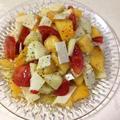 コンテチーズのフルーツサラダ