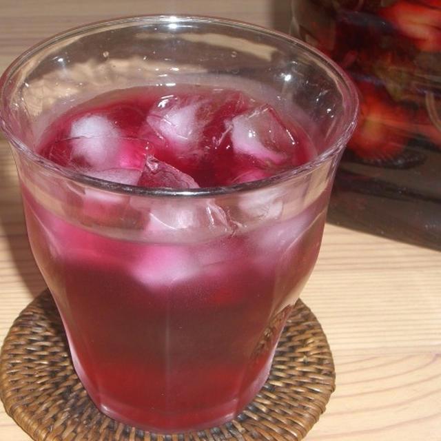 赤しそ梅酒