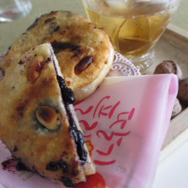 ★ホットク(호떡)・韓国の昔からの屋台おやつ。