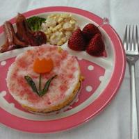 チューリップのライスケーキ