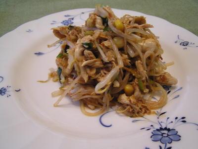 ささみとモヤシの中華サラダ