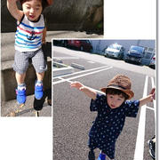 王子1歳10ヶ月の記録☆1歳過ぎたらシャンプーなのね!