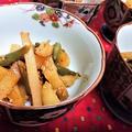 【レシピ】ホクホク★シンプル★サッパリ★素朴な美味しさ★きんぴら11【芋とインゲンの塩きんぴら】
