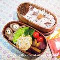 奈良のお土産 と 今日のOBENTO 『ちくわの豚肉まっきまき~』