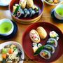 日本帰省中♪母に作ったお寿司ランチとおやつ★「日本に帰る」はタイ語で