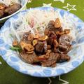 焼肉・バーベキューで余った牛肉でガーリックステーキにアレンジ! by 銀木さん