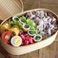 簡単おかずの春菊を使った肉巻き弁当レシピ!詰め方も合わせて紹介