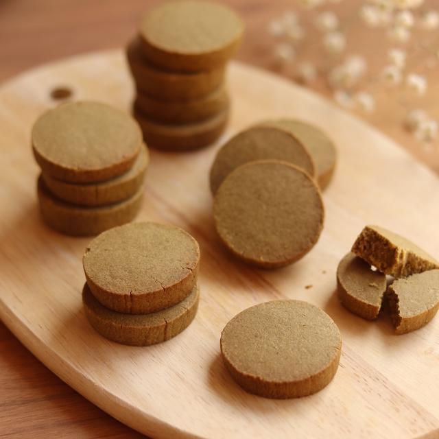 ほどける米粉のほうじ茶クッキーレシピ
