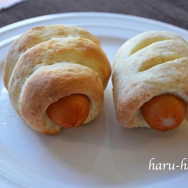 簡単、ウインナーパン☆