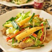 スパイシー肉野菜炒め