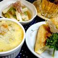 余り食材で! 簡単おつまみ3品で! ビールが美味しい! by ☆s4☆さん