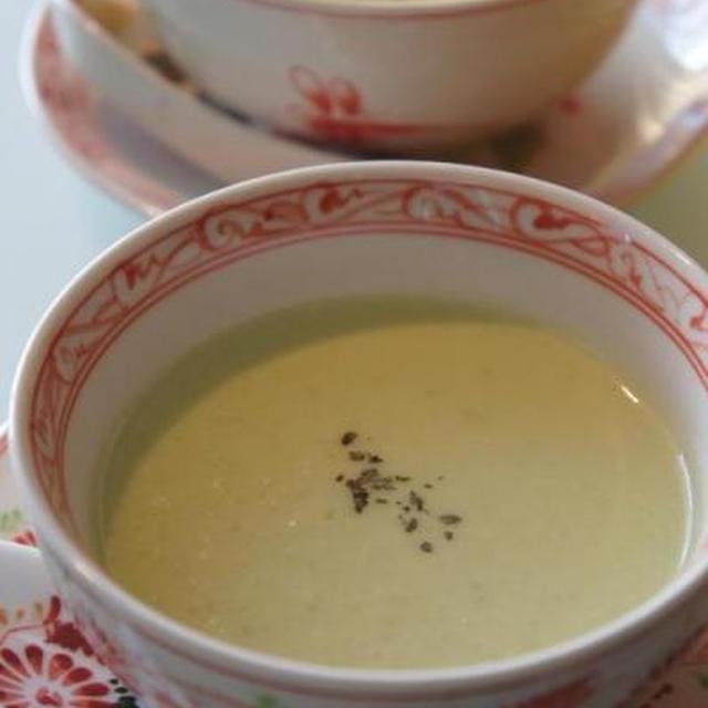 ☆アボカドのスープ&なめこ入りポテトサラダ☆