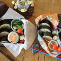 【親子弁】野菜の肉巻巻き寿司弁当 by Nigiricco*さん