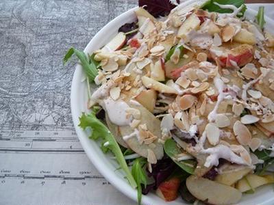 リンゴとベビーリーフのサラダ レシピ