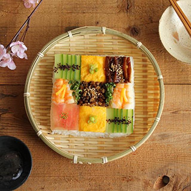 ひな祭りに♪家にあるもので話題のモザイク寿司