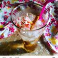 レモングラスの桜ジュース น้ำตะไคร้ซากุระ