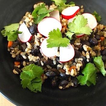 タコスの残りでメキシカン炒飯